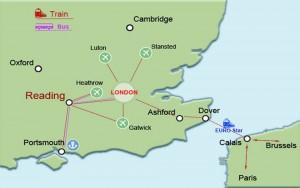 Reading Location Map